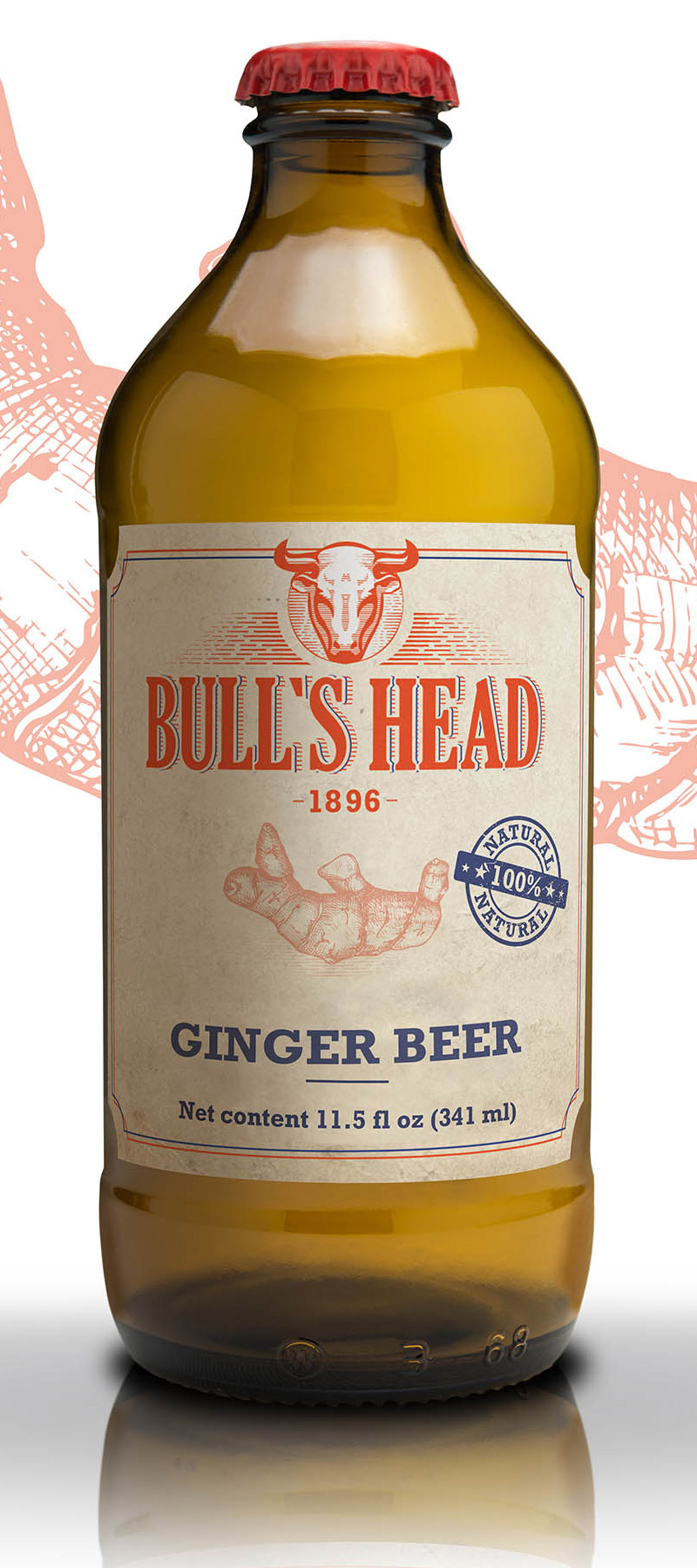 Bière de Gingembre 341 mL*_*Ginger Beer 341 mL*_*Cerveza de Jengibre 341 mL