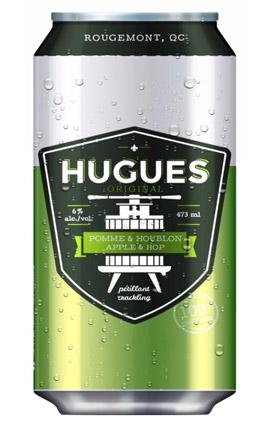 HUGUES Pomme & Houblon 473 mL*_*HUGUES Apple & Hop 473 mL*_*HUGUES Manzana & Lúpulo 473 mL