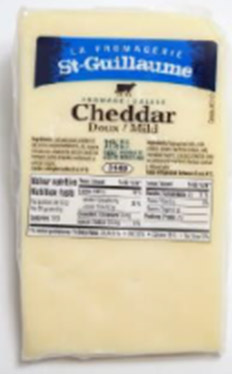 Cheddar en pointe 275 g*_*Mild Cheddar   275 g*_*Queso cheddar suave 275 g