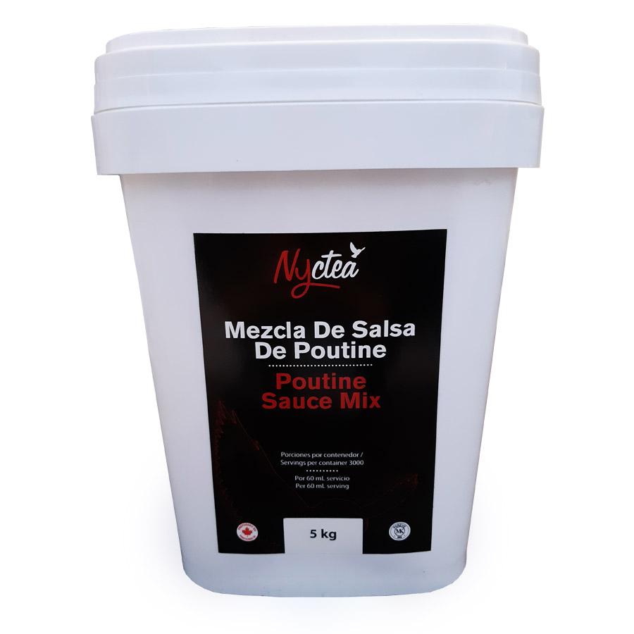 Sauce à poutine 5 Kg*_*Poutine Sauce Mix 5 Kg*_*Mezcla De Salsa De Poutine 5 Kg